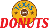 Welcome to TEXAS DONUTS Logo